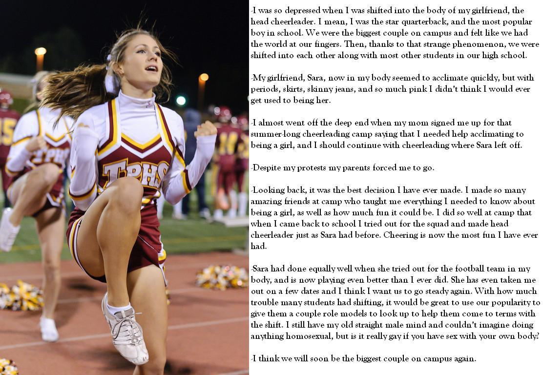 Cheerleader Tg Caption 6